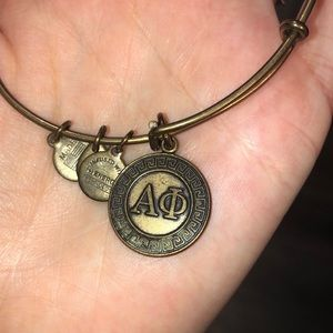 Alpha phi Alex and Ani bangle! Gold!